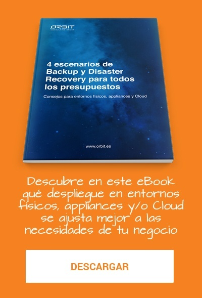 Backup Cloud y Disaster Recovery en la Nube