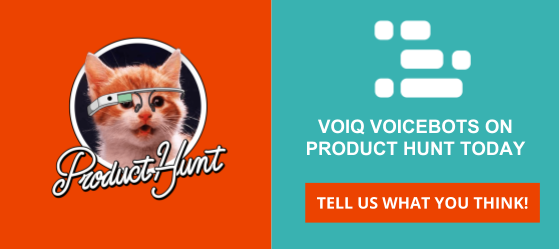 VOIQ VoiceBots on Product Hunt