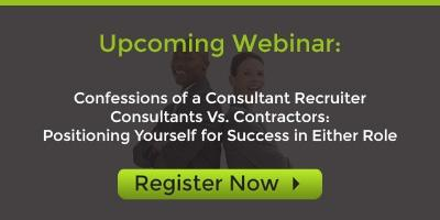 Register for Consultants Vs. Contractors Webinar