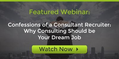Consulting Dream Job Webinar