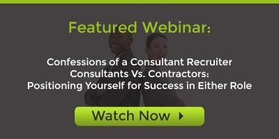Register for Consultants Vs. Contractors Webinar Recording
