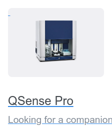 QSense Pro Looking for a companion in large-scale QCM-D analysis? The fully automated  QSense Pro is best fit for the job.
