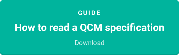 Guide  How to read a QCM specification  Download