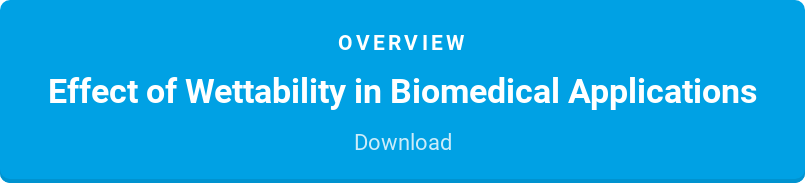 Overview  Effect of Wettability in Biomedical Applications  Download