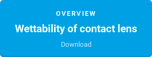 Overview  Wettability of contact lens  Download