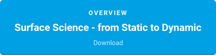 Overview  Surface Science - from Static to Dynamic  Download