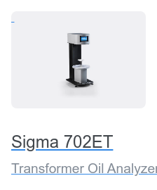 Sigma 702ET Transformer Oil Analyzer specifically designed for measurements of interfacial  tension of transformer oil according to relevant standards.