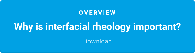 Overview  Why is interfacial rheology important?  Download