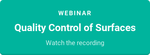 Webinar  Quality Control of Surfaces  Watch the recording