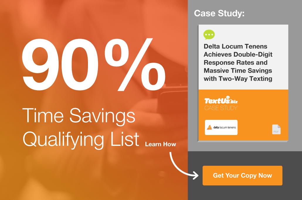 TextUs.Biz Case Study: TaleMed Staffing