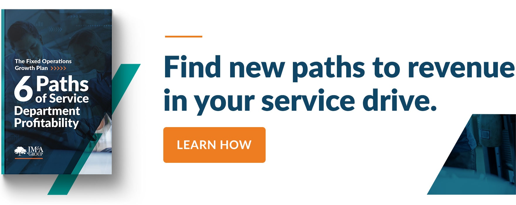 Find new paths to revenue in your service drive. Learn How.