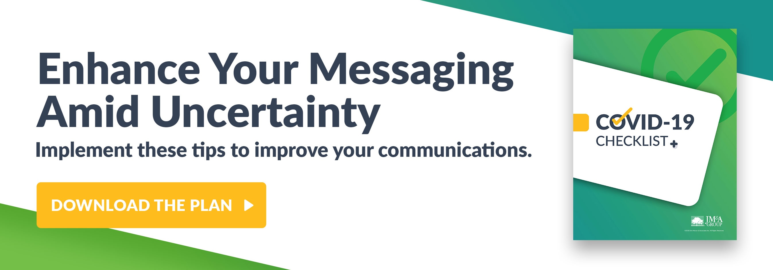 Enhance Your Messaging Amid Uncertainty - Download the Plan