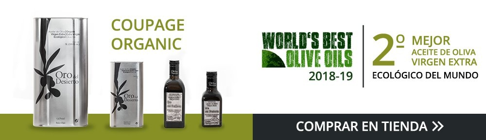 Coupage Organic, 2º Mejor AOVE del mundo World's Best Olive Oils