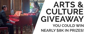 Arts & Culture Giveaway