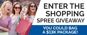 Shopping Spree Giveaway