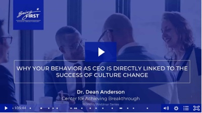 Why CEO Behavior is Directly Linked to Successful Culture Change