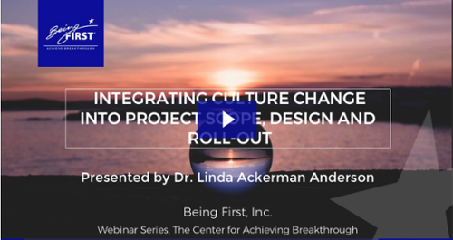 Free Webinar: Integrating Culture Change Into Project Scope, Design and Roll-Out