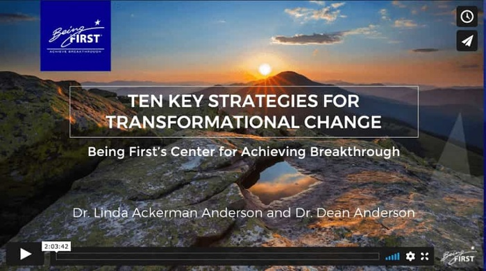 Ten Key Strategies for Transformational Change Workshop