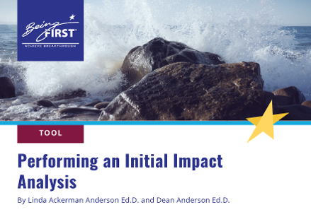 Performing an Initial Impact Analysis