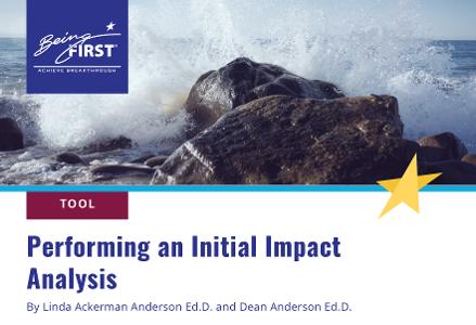 Performing an Initial Impact Analysis