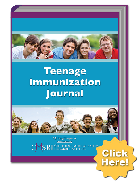 Teenage Immunization Journal Download