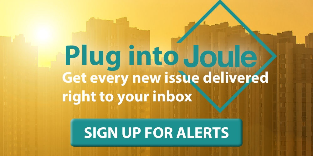 Sign up for Joule alerts