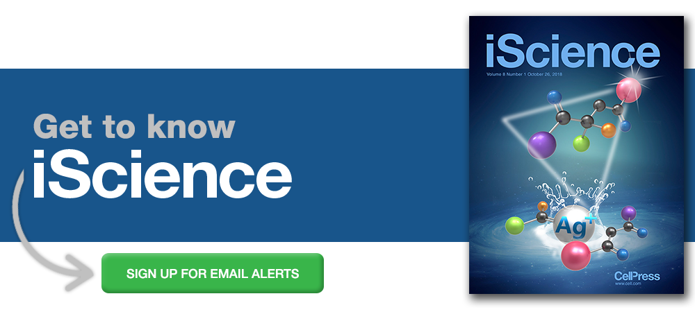 Sign up for alerts from iScience