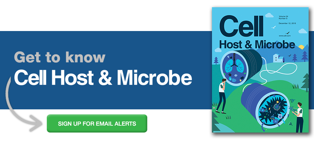 Sign up for alerts from Cell Host & Microbe