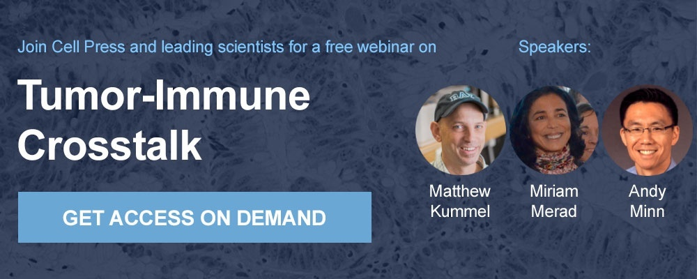Join the webinar on Tumor-Immune Crosstalk
