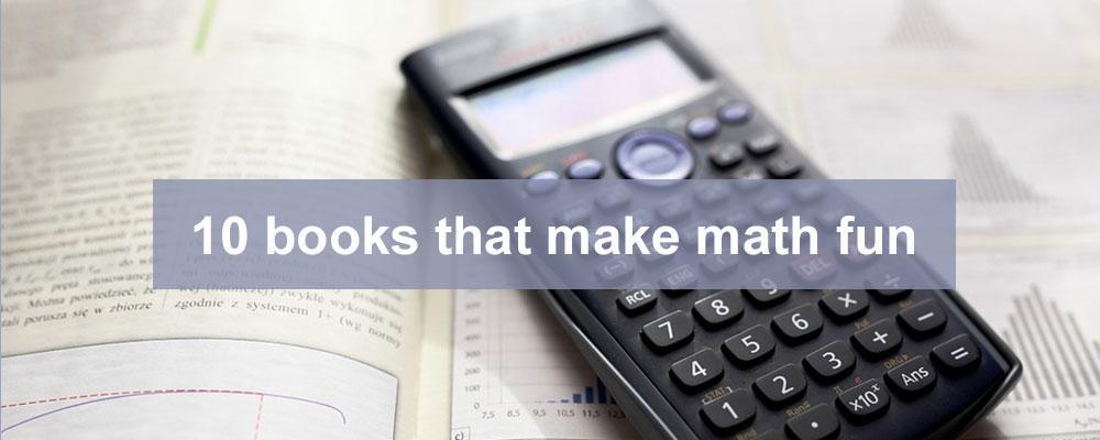 10 books that make math fun