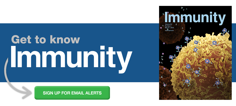 Sign up for alerts from Immunity