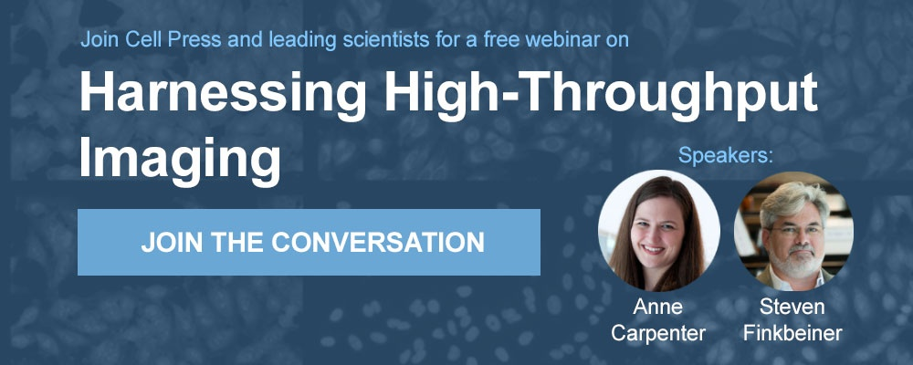 Sign up for the Harnessing High-Throughput Imaging webinar