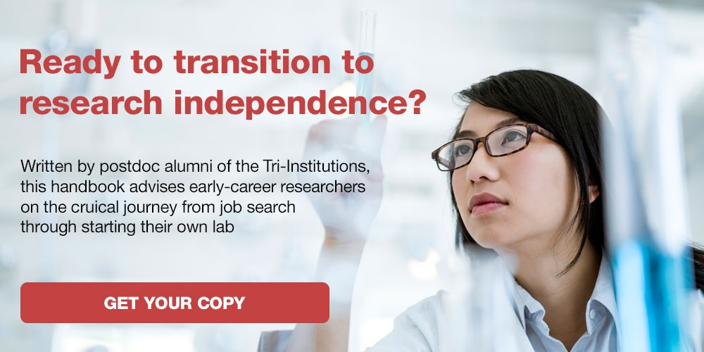 Transitioning to Research Independence