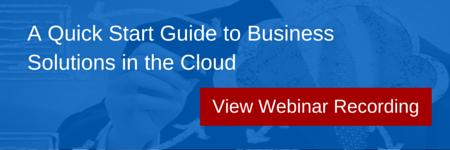 View Cloud Webinar Content