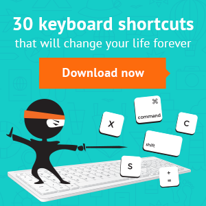 30 truly terrific keyboard shortcuts (it will change your life!)