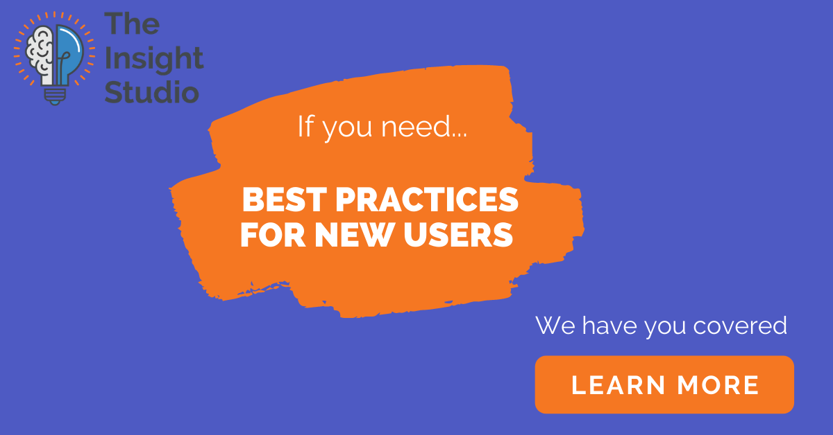 best practices for new users