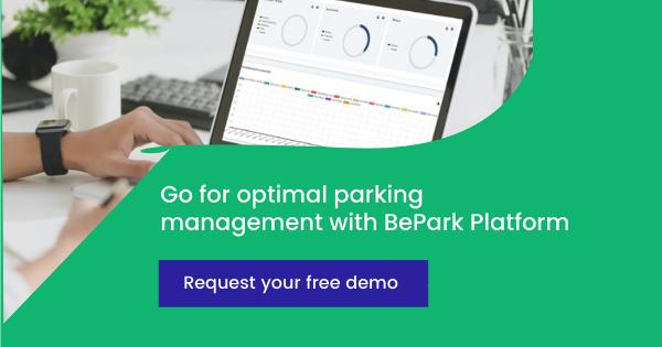 Request a free demo of BePark's Parking Management Platform