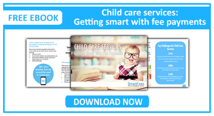 Child care services getting smart with fee payments