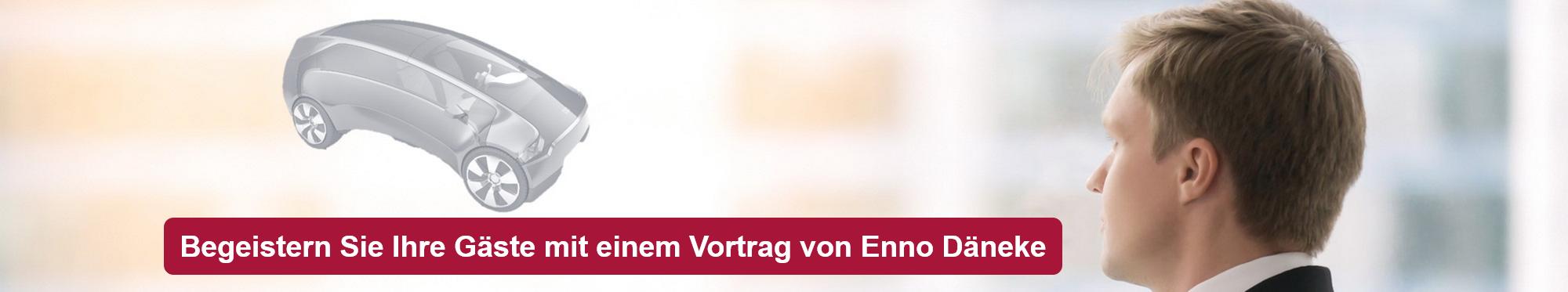 Begeistern Sie Ihre Gäste mit einem Vortrag von Enno Däneke
