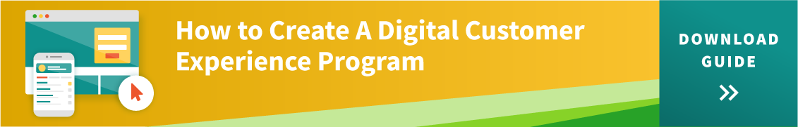 How to create a digital customer experience program resource