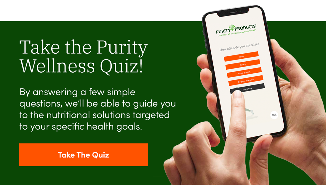 Purity Products Survey Quiz Popup