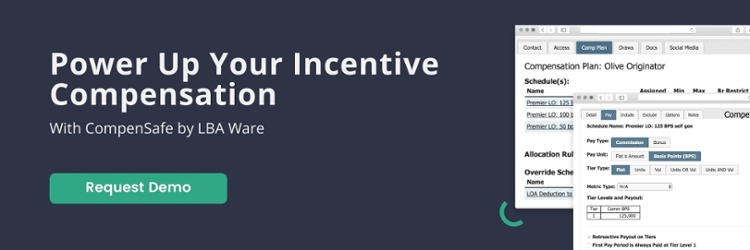 Request a demo to power up your incentive compensation with CompenSafe by LBA Ware