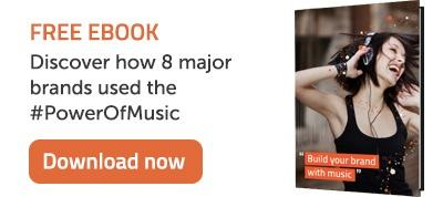 Downlaod Ebook - Discover how 8 major brands used the #PowerOfMusic