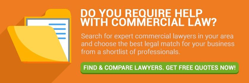 Do you require help with commercial law?