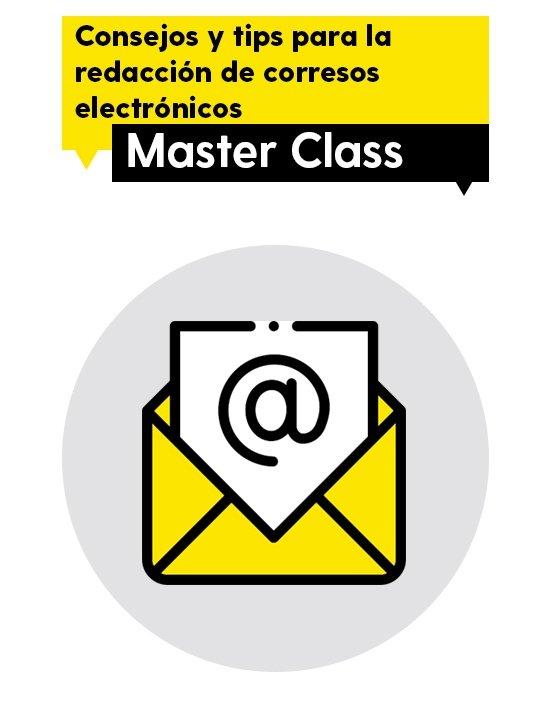 Master Class de redacción de correos electrónicos