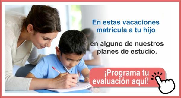 Programa tu evaluación