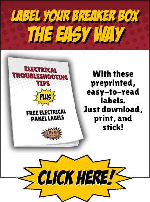 Electrical Troubleshooting Tips Plus Free Electrical Panel Labels