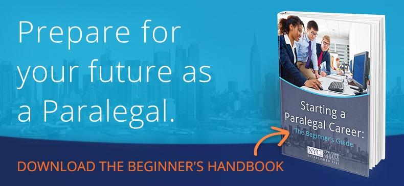 paralegal courses nyc