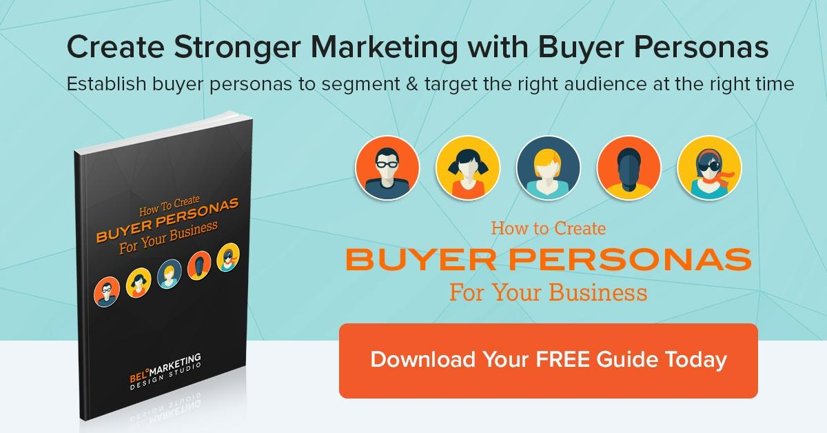 Download your free guide to creating buyer personas for your business