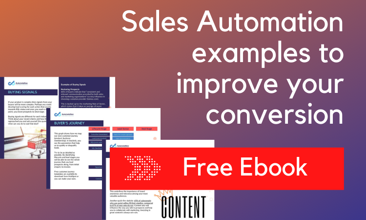 Sales Automation Examples